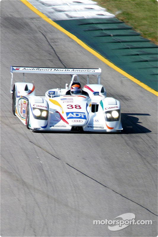 #38 Team ADT Champion Racing Audi R8: JJ Lehto
