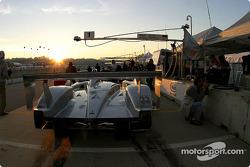 Infineon Team Joest pit area