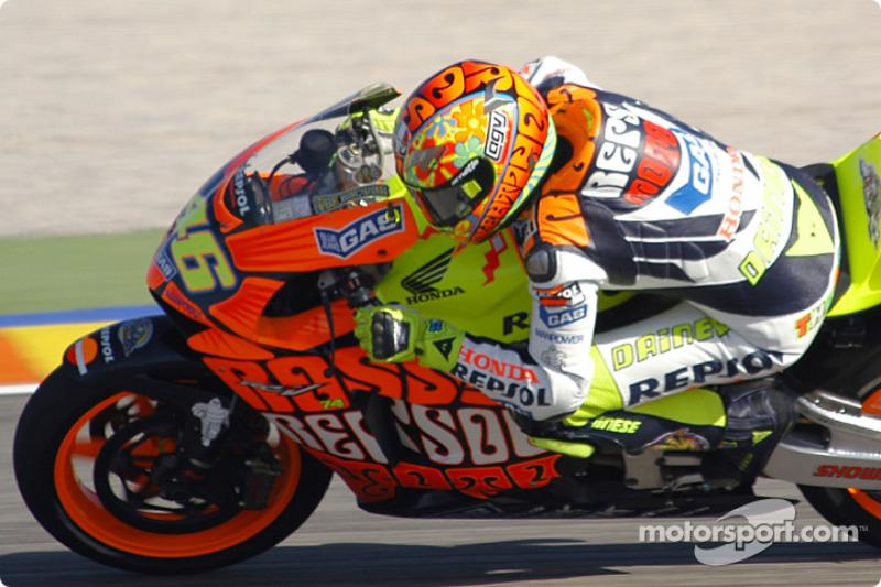 2003 - Валентино Россі, Honda