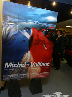 Presentation of the 'Making of Michel Vaillant' to the media