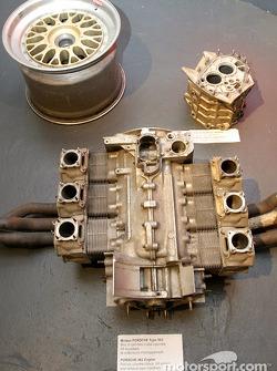 Porsche Type 962 flat-6 engine