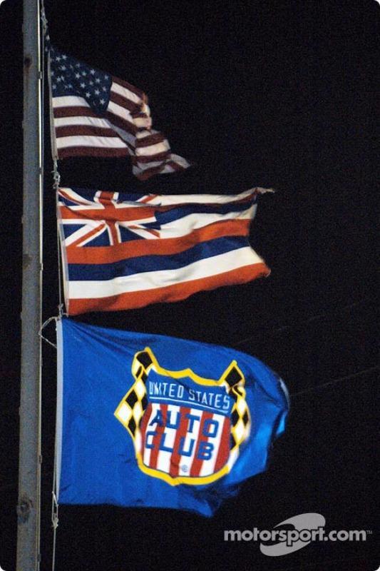 Premier meeting de l'USAC à Hawaii
