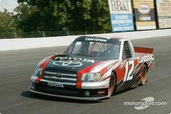 Joe Ruttman teste la Toyota Tundra NASCAR Craftsman Series Truck