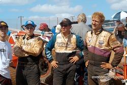 Ronnie Clark, Brandon Lane et Rick Ziehl