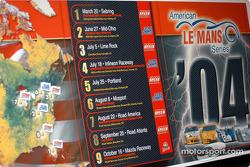 The ALMS 2004 calendar