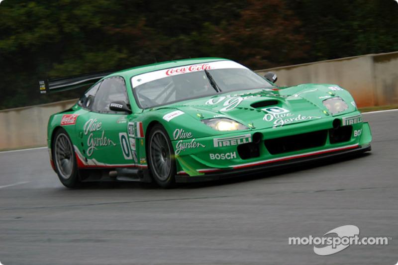 0 Team Olive Garden Ferrari 550 Maranello: Emanuele Naspetti ...