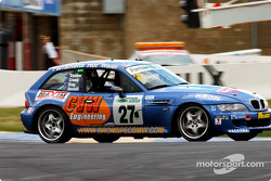 #27 Wayne Russell BMW M Coupe: Wayne Russell, Steve Cramp, Mark King, Paul Stubber