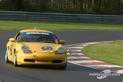 #68 SpeedSource Porsche Boxster: Scott Schlesinger, Sylvain Tremblay