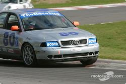 #80 LM Racing Audi A4: John Legg, Rick Ellinger