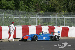 Juan Martin Ponte off the track