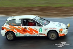 La n°8 de la Scuderia Scatera Volante pilotée par Vinnie Faraci, Steve Mulvey, Ralph Alexander et Dennis Bainbridge