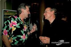 Gordon Murray with Dr Burkard Goeschel