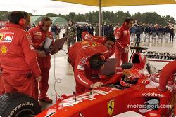 Michael Schumacher se prépare