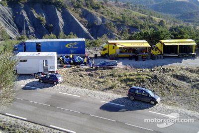 Essai du Subaru World Rally Team