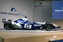 The new WilliamsF1 BMW FW26