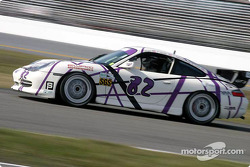La Porsche GT3 Cup n°82 du dds Racing (Jim Brillhart, Terry Heath, Jack Henricks, Steve Lynn)