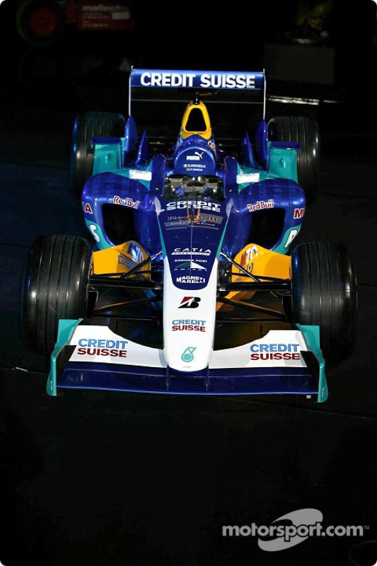 La nouvelle Sauber Petronas C23