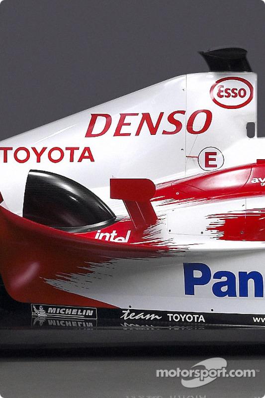 Détails de la nouvelle Toyota TF104