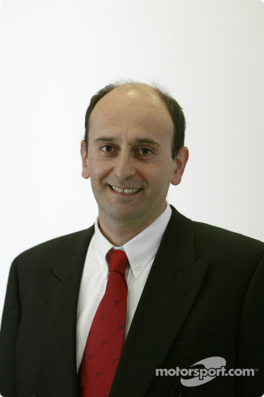 Luca Marmorini, directeur technique moteur