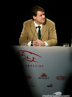 Managing Director of Jaguar Racing, David Pitchforth
