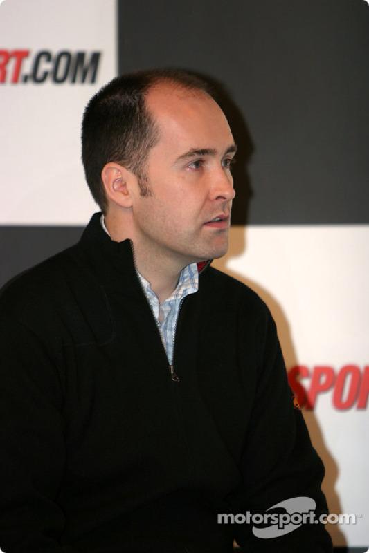 Interview de Robert Reid sur la scène Autosport