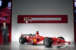 Paolo Martinelli talks about the new Ferrari F2004 engine