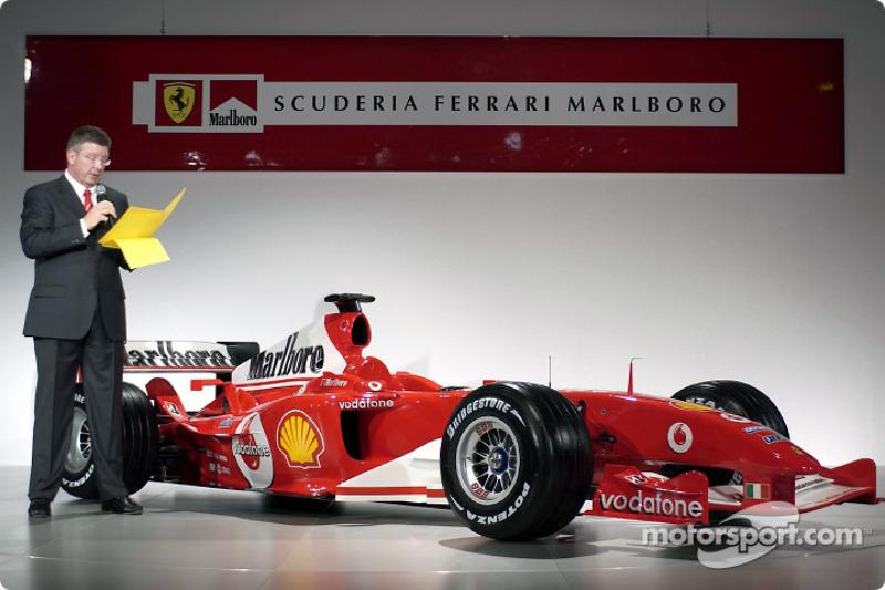 Росс Браун представляє Ferrari F2004