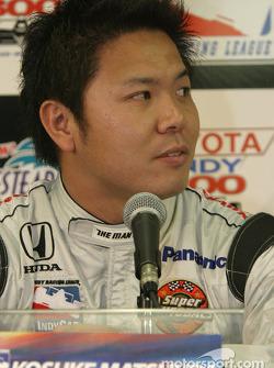 Rookies press conference: Kosuke Matsuura