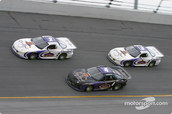 Dick Trickle, Jay Sauter et Dave Marcis