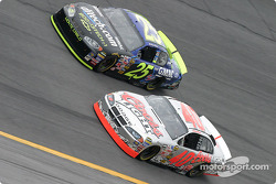 Brian Vickers and Sterling Marlin