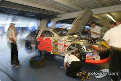 Robert Yates Racing garage area