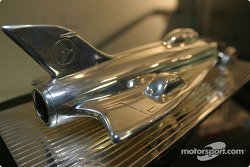Detail of the Harley F. Earl Daytona 500 winner's trophy