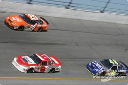 Dale Earnhardt Jr., Tony Stewart and Jimmie Johnson