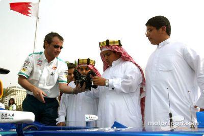 Le Team Sauber en visite à Bahreïn