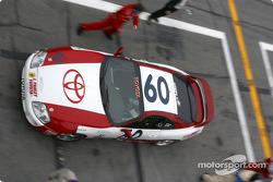 Pitstop for #60 J Pauley Motorsports Toyota Supra: Ron Pawley, Brian Peele