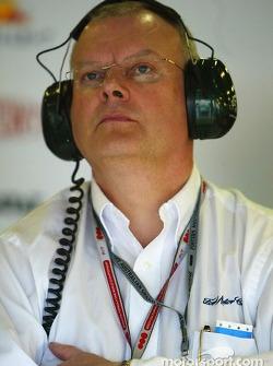 Head of Ford motorsport Richard Parry Jones