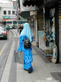 Street scene in Kuala Lumpur