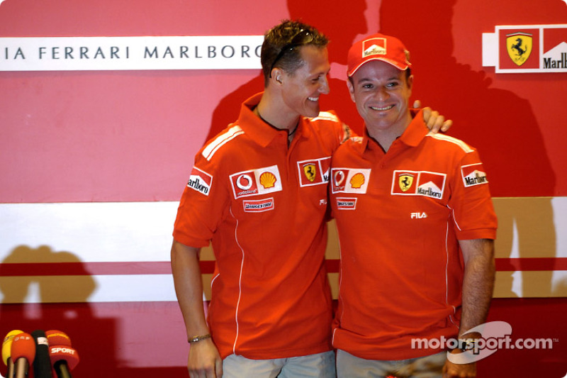 Conferencia de prensa: Michael Schumacher y Rubens Barrichello