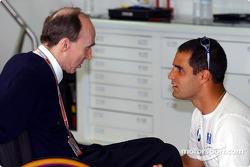 Frank Williams ve Juan Pablo Montoya