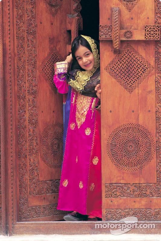 Une jeune femme bahreïnie