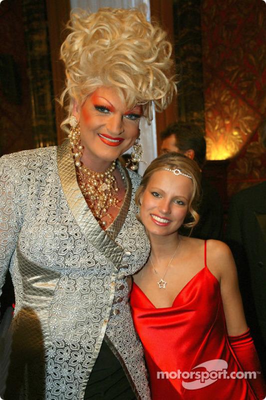 Olivia Jones mit Miss Hamburg Hiltja Müller