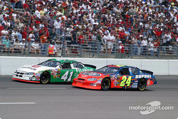 Casey Mears and Jeff Gordon