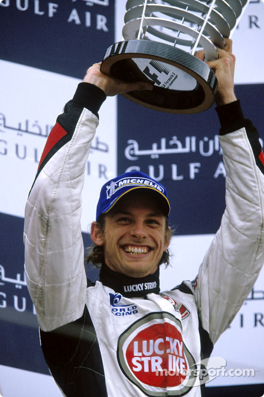 Podium: 3. Jenson Button, BAR