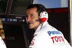 Toyota team manager Ange Pasquali