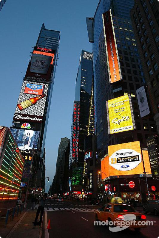 Tôt le matin sur Times Square