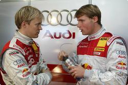 Mattias Ekström and Martin Tomczyk