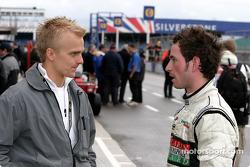 Heikki Kovalainen and Danny Watts
