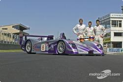 #8 Audi Sport UK Team Veloqx Audi R8: Allan McNish, Frank Biela, Pierre Kaffer