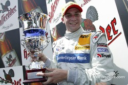 Podium: race winner Christijan Albers