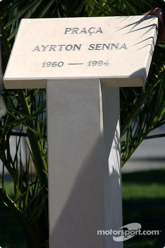 Erinnerung an Ayrton Senna
